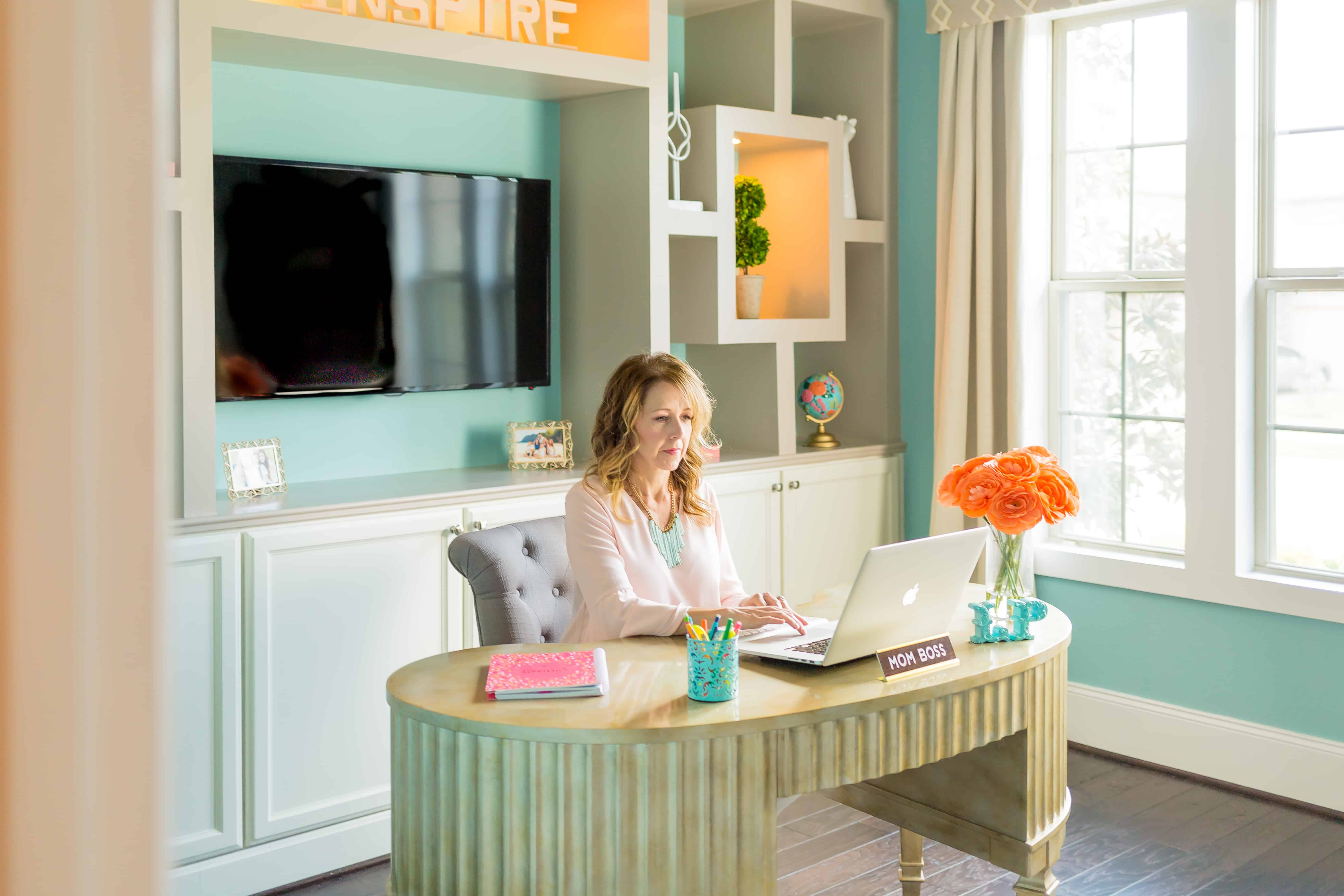 5 Ways To Add Fun To Your Home Office Hire My Mom